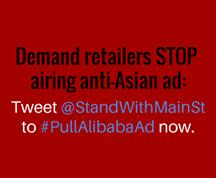 stop anti-Asian ads